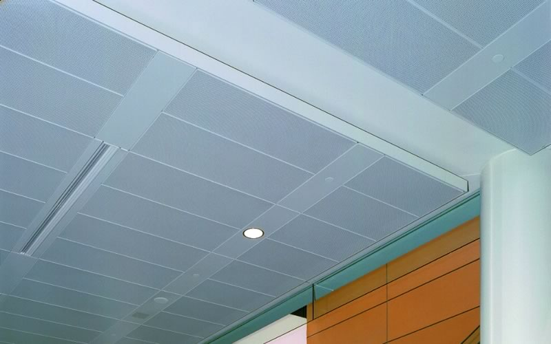 Suspended Acoustical Ceiling System by Central Ceiling Systems, Inc.