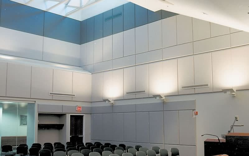 Acoustical Wall Panels by Central Ceiling Systems, Inc.