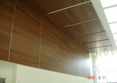 Wood Ceiling & Panels from Central Ceiling Systems