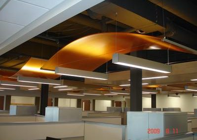Curved Ceiling from Central Ceiling Systems