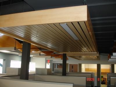 Wood Ceiling from Central Ceiling Systems